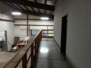 Before: Upstairs Rail & Walkway