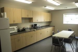 After: Break Room